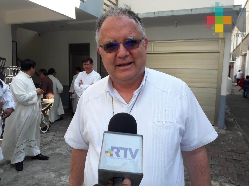 Padre Víctor Manuel Díaz Mendoza está contagiado de COVID-19, confirma obispo de Veracruz