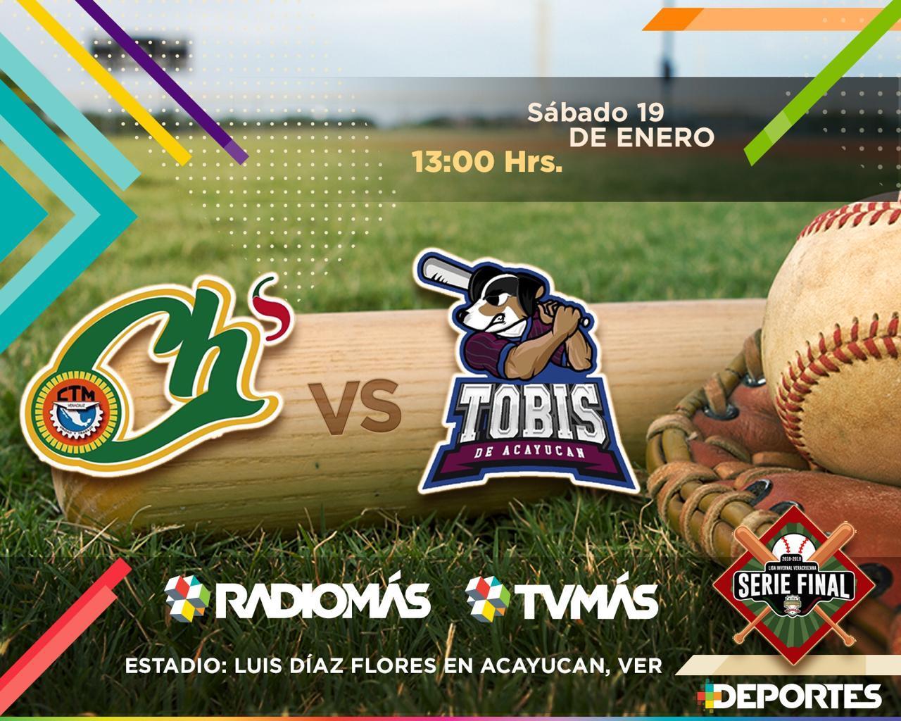 Este sábado se reanuda la Serie Final de la Liga Invernal Veracruzana