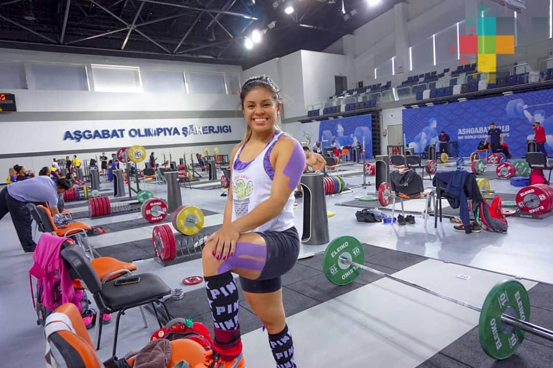 Ana Gabriela López Ferrer participará en Mundial de Pesas de Tailandia