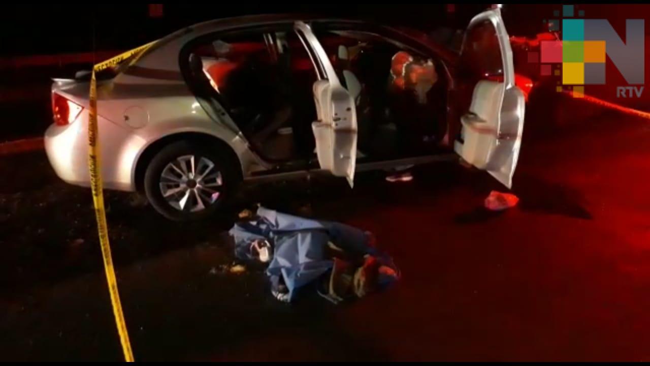 Accidente en autopista Cosoleacaque-Acayucan deja un menor fallecido y cinco lesionados
