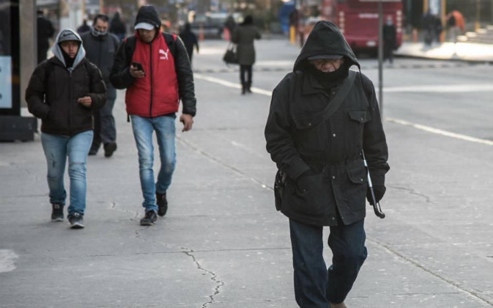 Frente Frío 12 traerá descenso de temperatura y evento de Norte violento