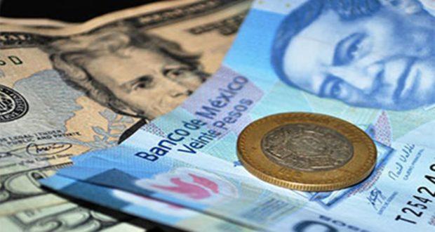 Hasta en 19.42 pesos se cotiza el dólar en bancos de la Ciudad de México