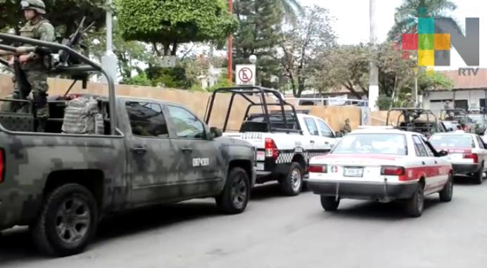 Gendarmería, SEDENA y Policía Estatal apoya labores de seguridad en La Huasteca