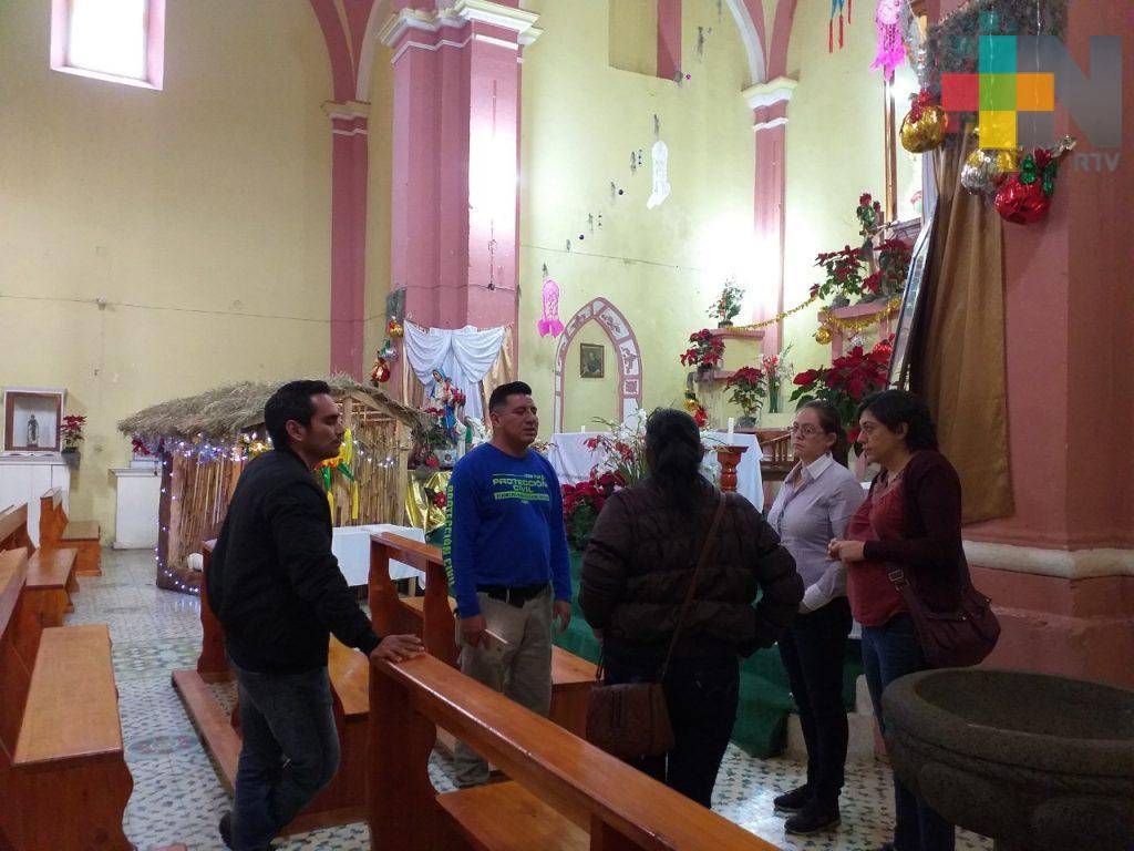 Supervisa PC posibles afectaciones por sismo en Ixhuacán de los Reyes