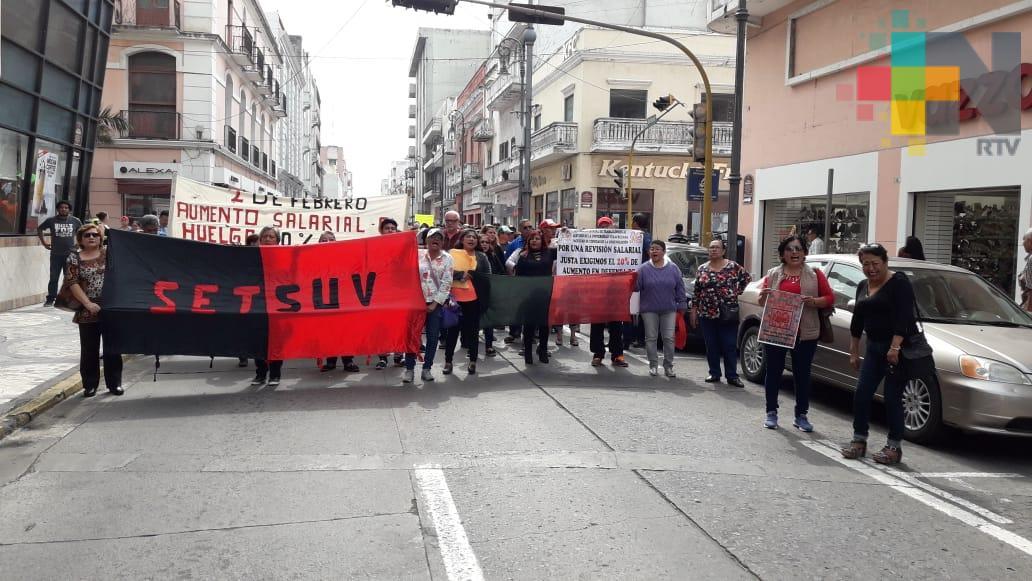 SETSUV emplaza a huelga al no recibir aumento salarial