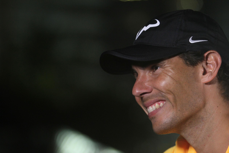 Rafael Nadal celebra su cumpleaños lejos de la arcilla