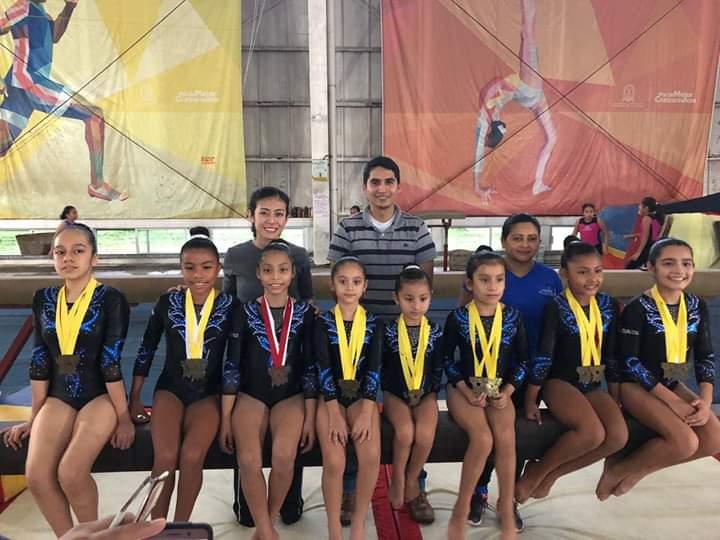 CAR Coatzacoalcos acudirán a control técnico de gimnasia en Xalapa