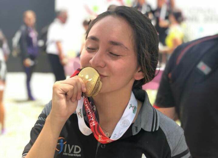Danna Cortés a refrendar título de Olimpiada Nacional