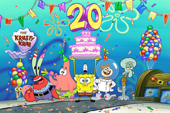 """Nickelodeon celebrará 20 años de """"Bob Esponja"""""""