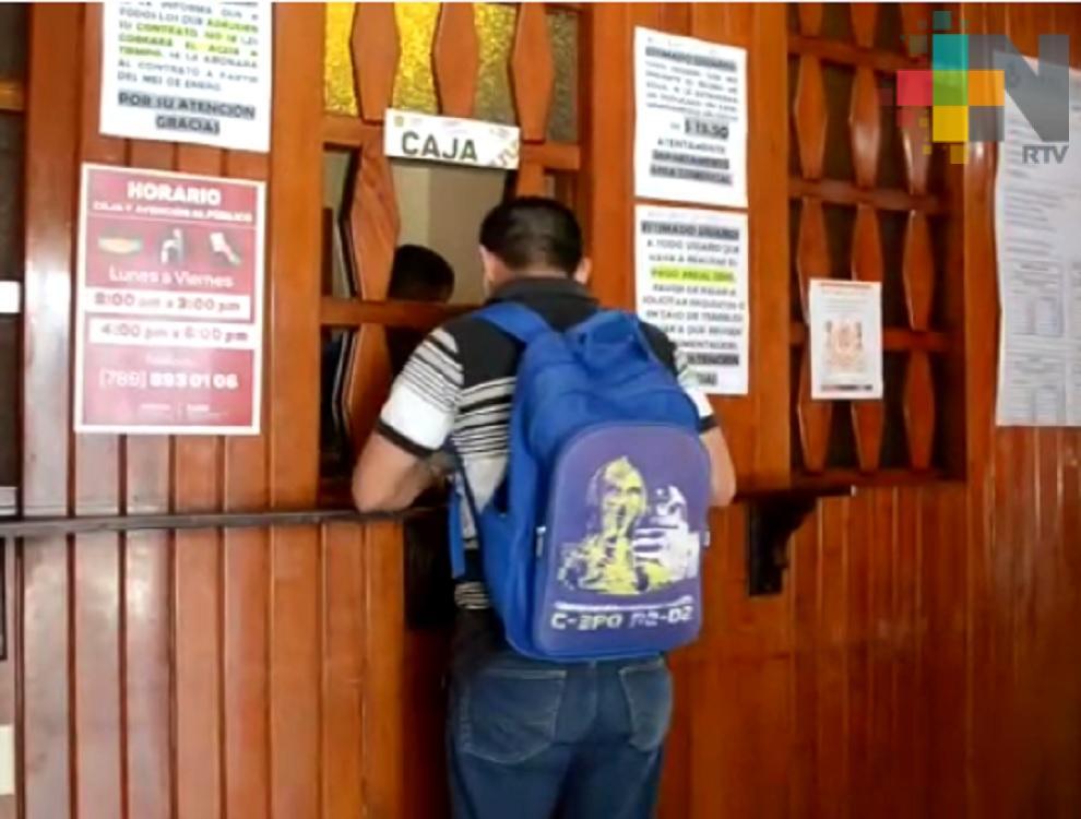 En Tantoyuca inicia programa de Pago Anual Anticipado