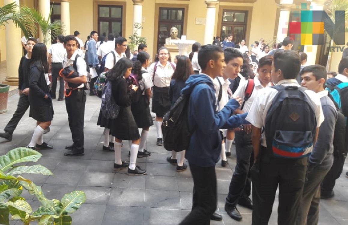 Alumnos piden que remodelación de Colegio de Bachilleres de Veracruz sea integral