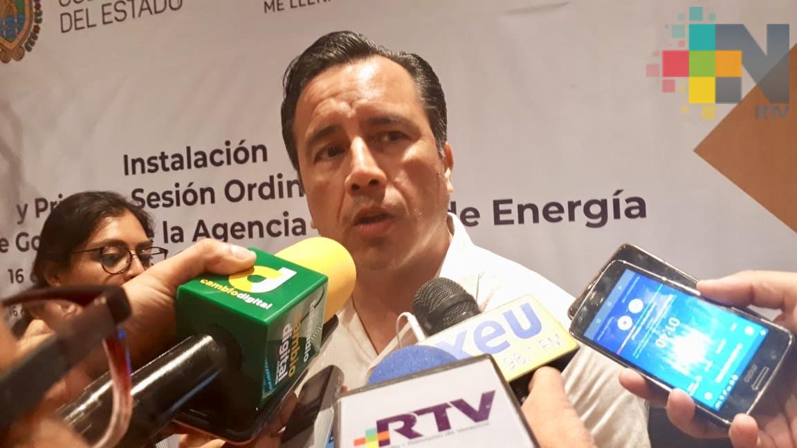 Nueva estrategia de seguridad para Coatzacoalcos y Xalapa: Cuitláhuac García