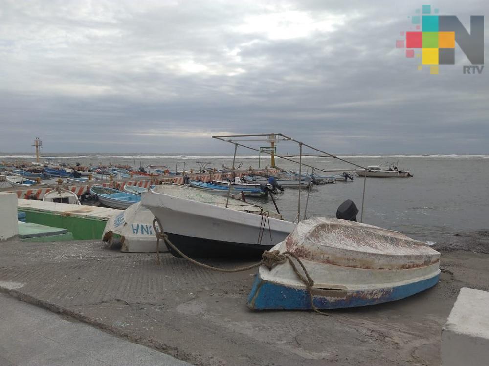 FF 36 mantiene paralizadas actividades pesqueras en el puerto de Veracruz