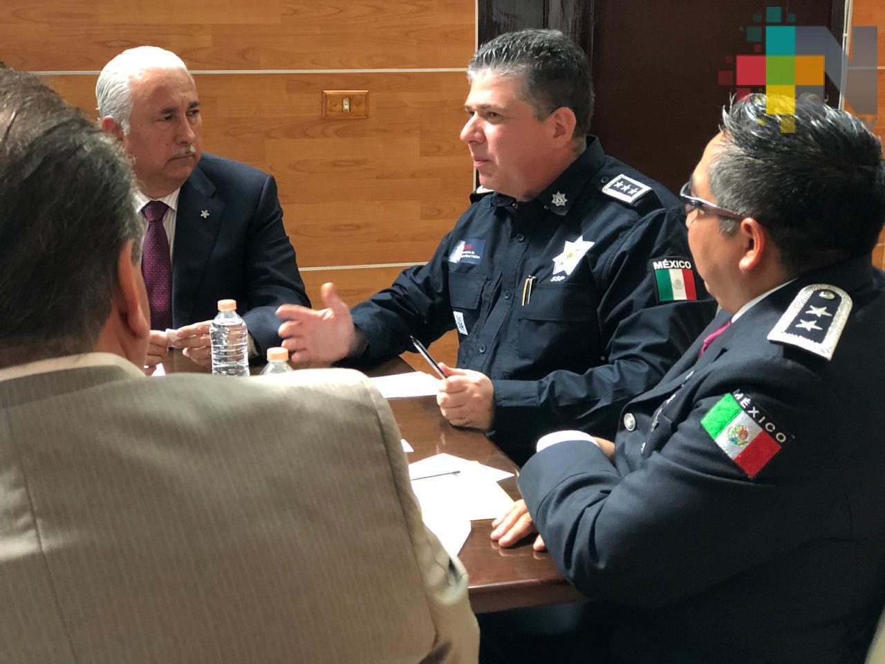 Seguiremos luchando hasta devolverle la paz a Veracruz: Secretario de Seguridad Pública