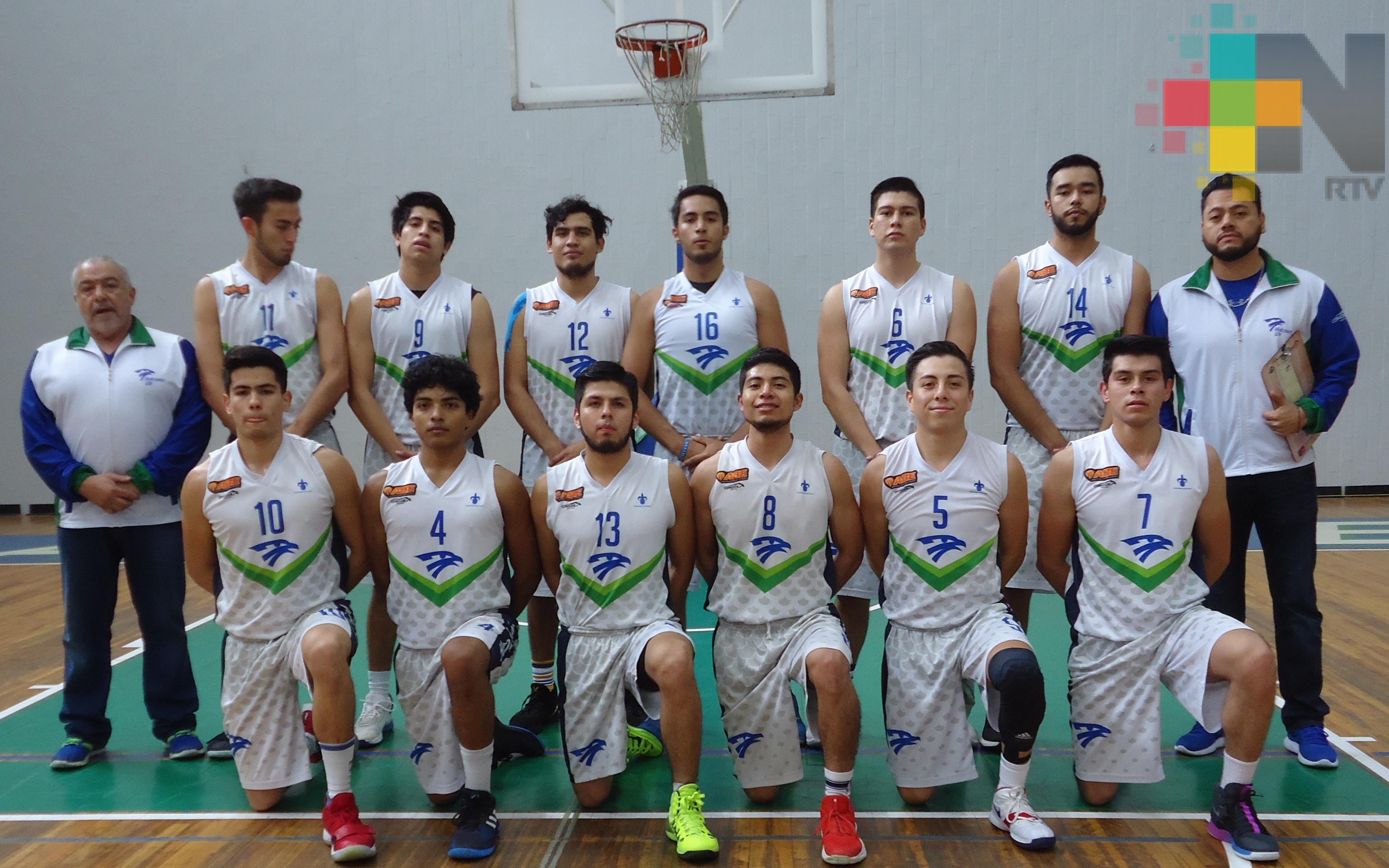 Halcones UV recibe a Anáhuac Xalapa en Liga ABE