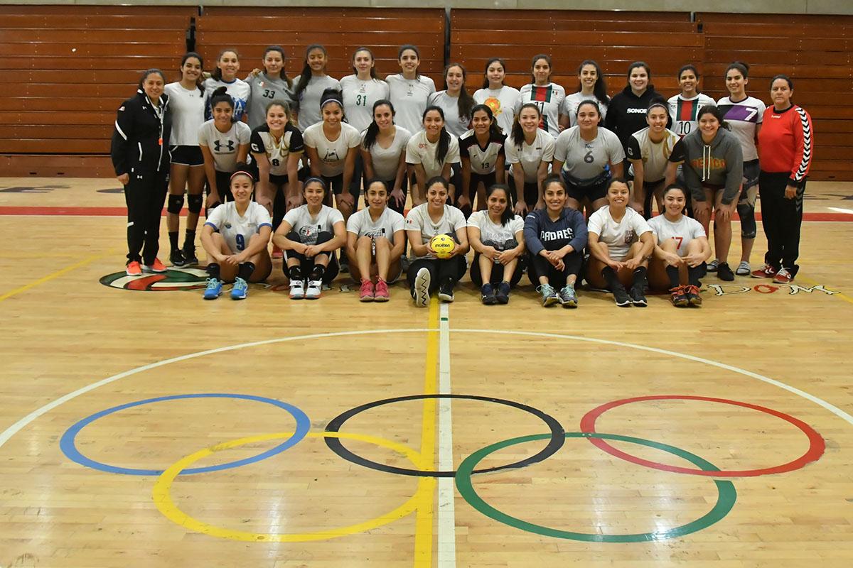 Se concentran preselección femenil de handball