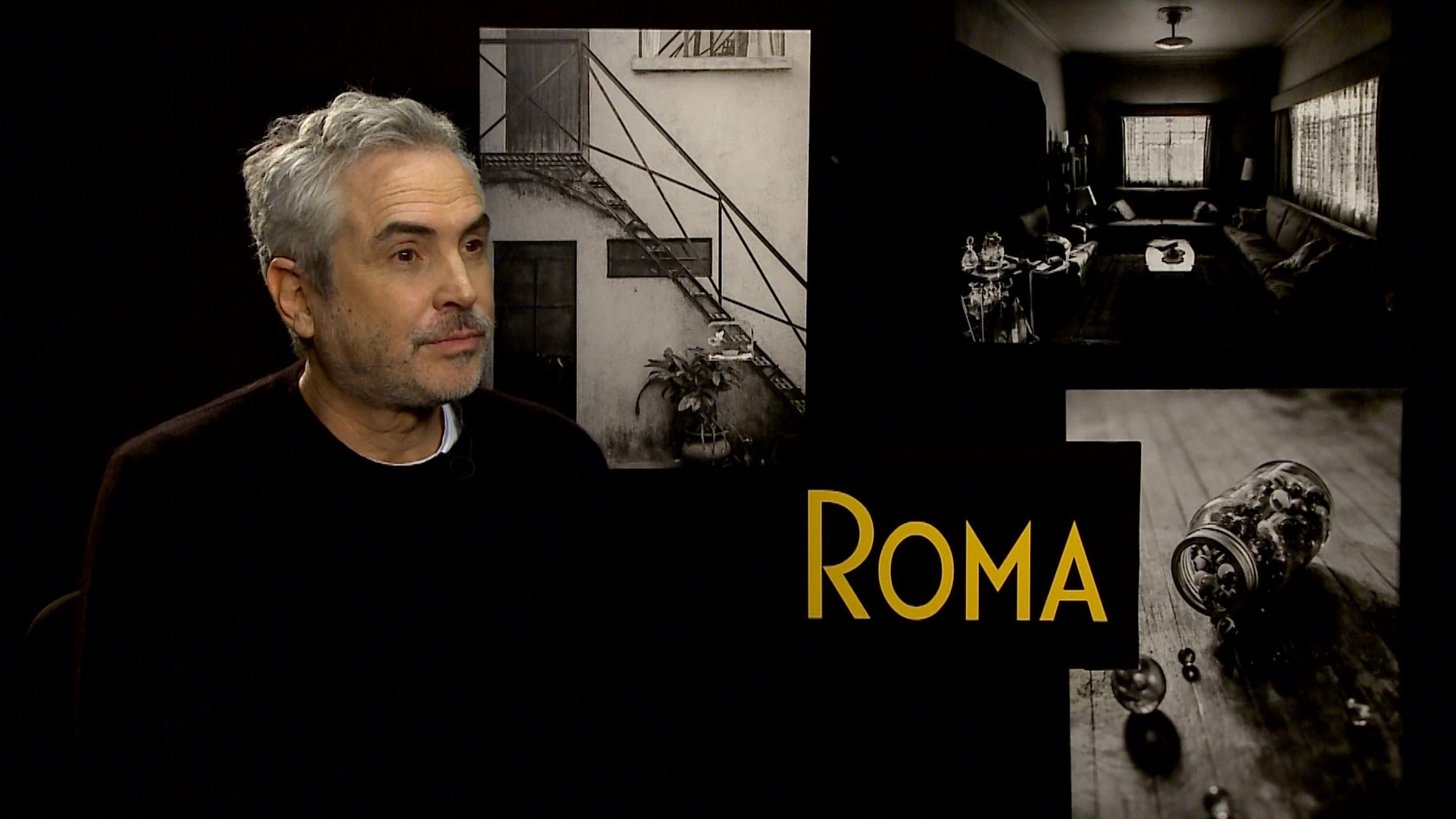 """Película """"Roma"""" es un garbanzo de a libra, asegura Director de TV UNAM"""