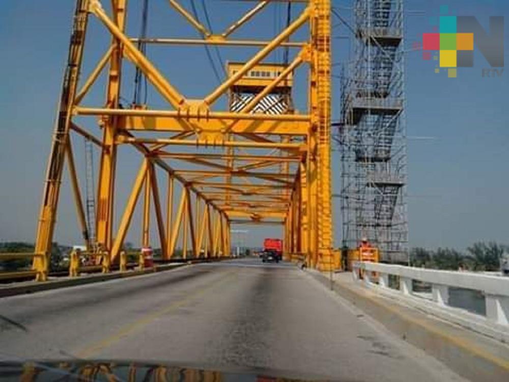 Inician trabajos de rehabilitación al Puente Coatzacoalcos I