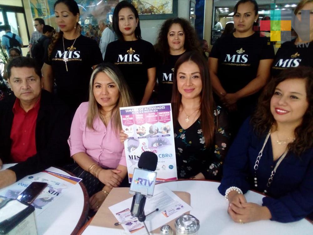 Agrupación MIS realizará actividades por Día Internacional de la Mujer