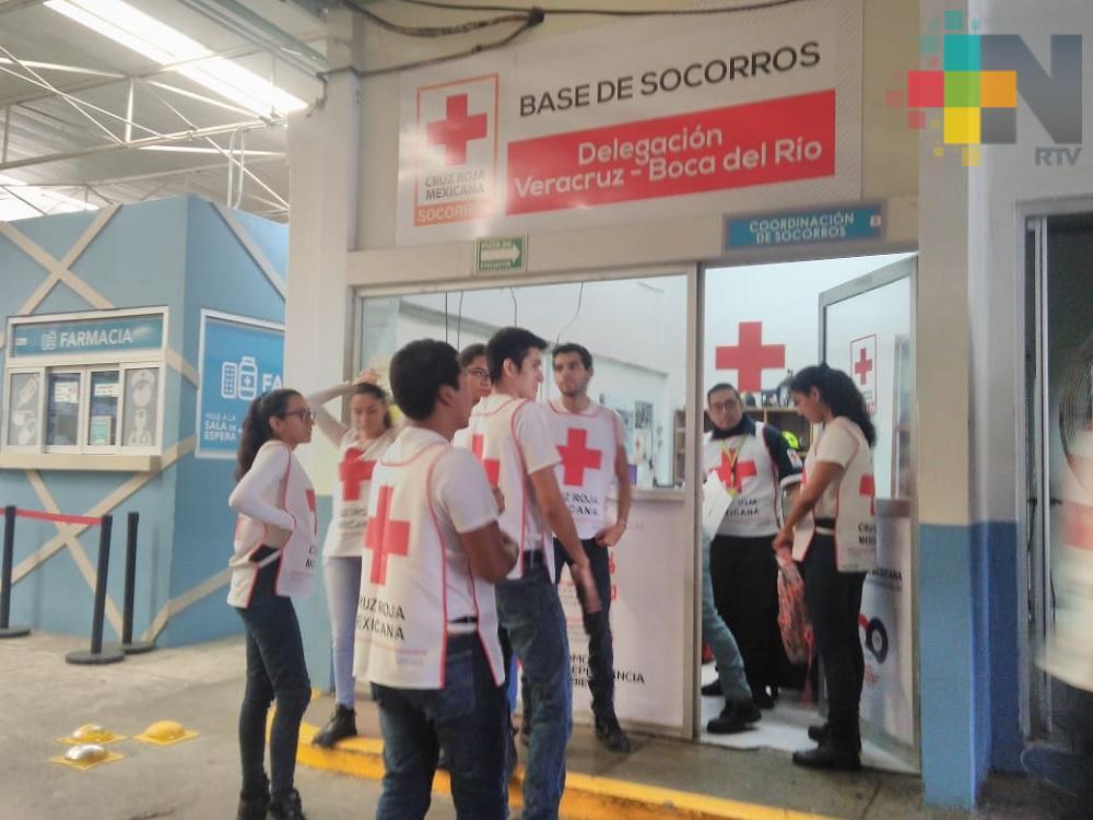 Paramédicos de Cruz Roja Mexicana delegación Veracruz estarán presentes en el carnaval