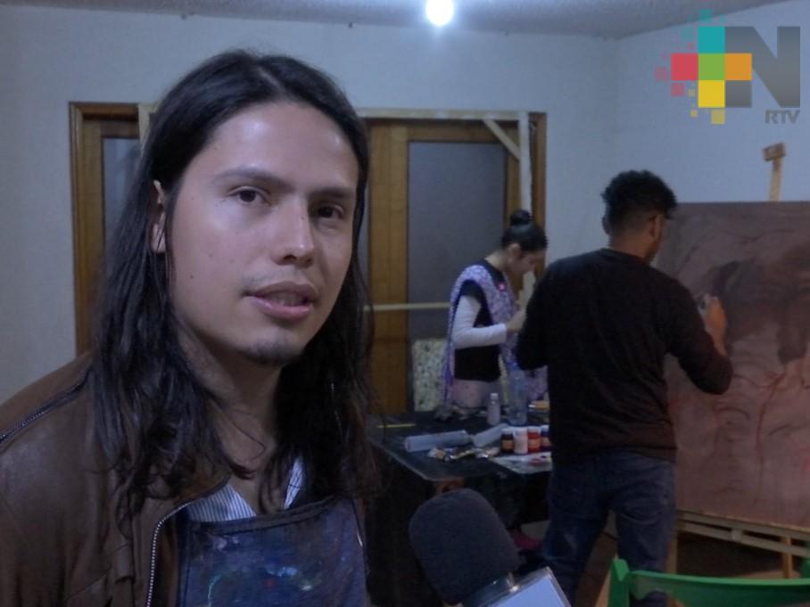 Sahuma de Xalapa ofrece talleres permanentes de dibujo, pintura y escultura