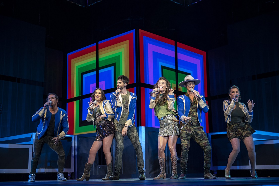 """Timbiriche ofrece concierto memorable en recta final de gira """"Juntos"""""""