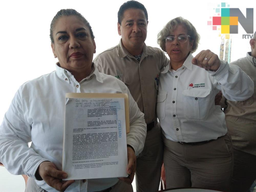 Trabajadores de Pemex esperan que próximas elecciones para elegir secretario general sean transparentes