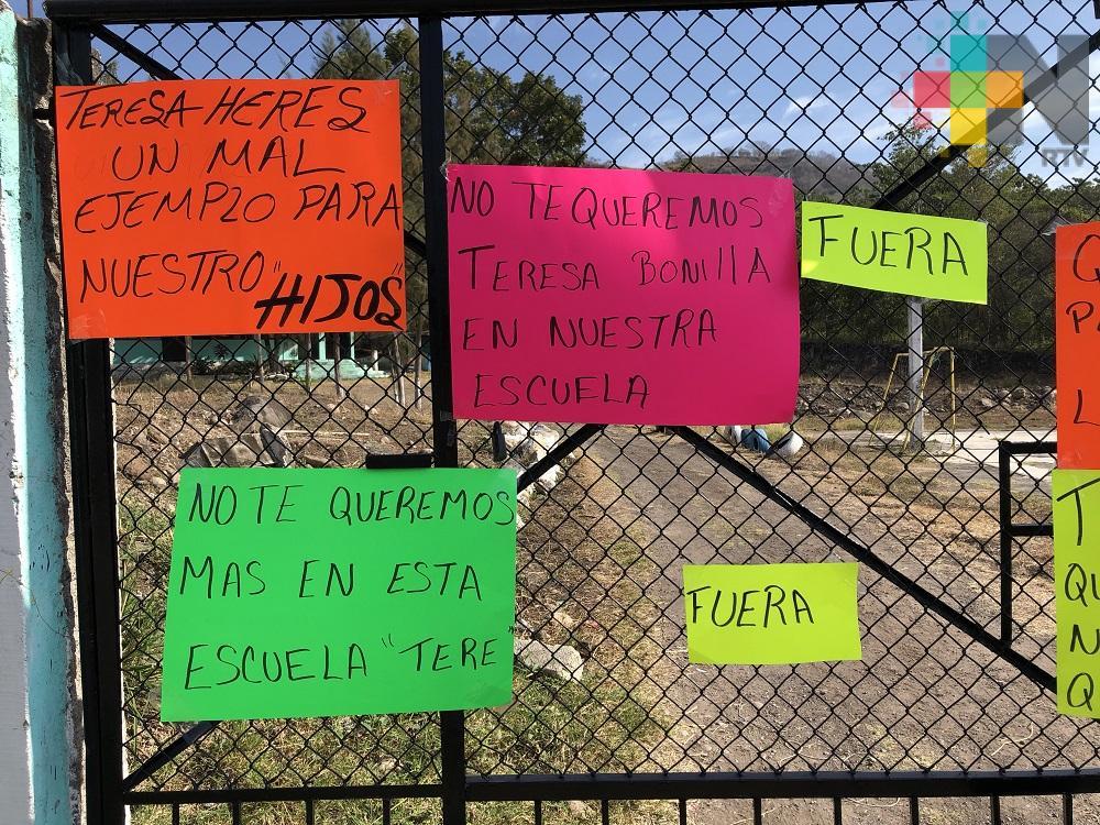 Toman escuela en Actopan, Veracruz