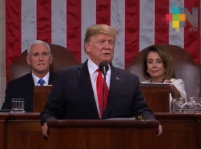 Demócratas discutirán en EUA si impulsan juicio político contra Trump