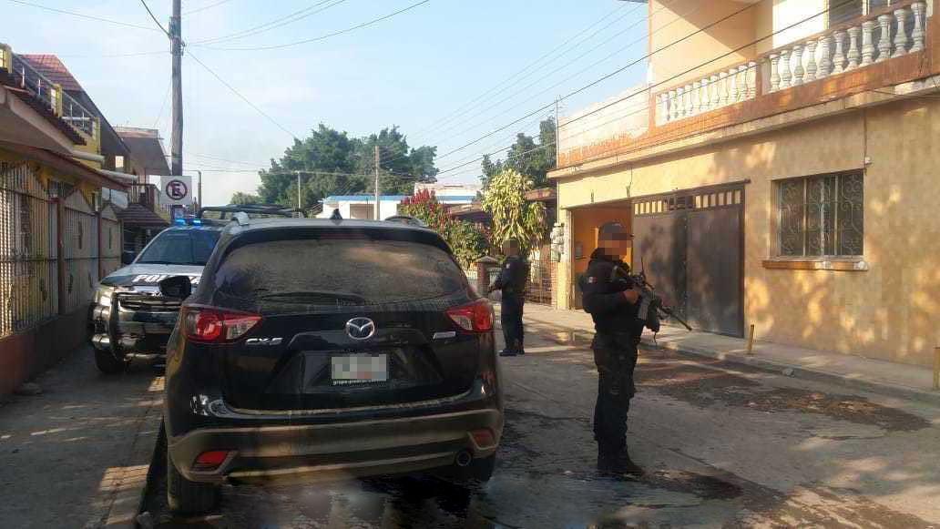 Recuperan fuerzas del orden cuatro vehículos robados