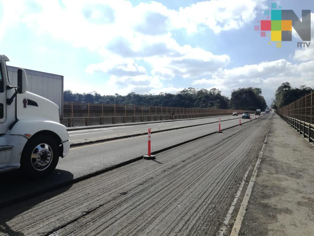Tránsito lento en la carretera Córdoba-Mendoza, por reparaciones