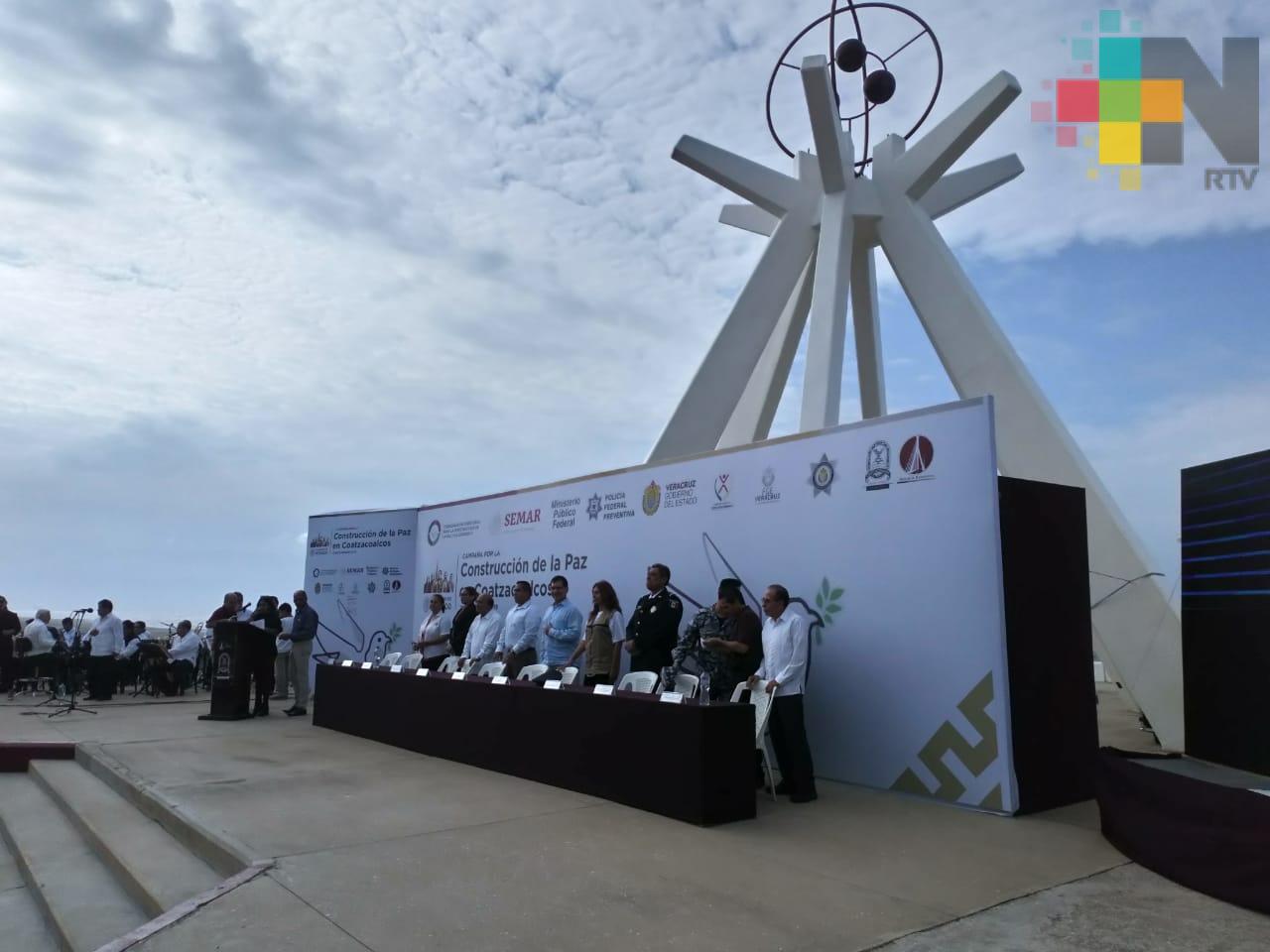 Arranca Construcción de la Paz en Coatzacoalcos