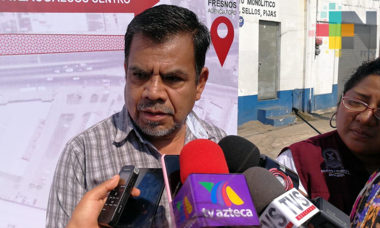 Ayuntamiento de Coatzacoalcos ejecutará 100 mdp del plan de obras