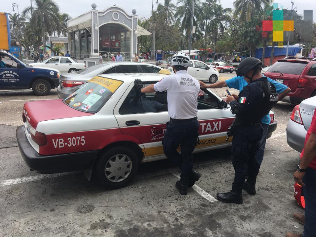 Detienen a presuntos asaltantes en el puerto de Veracruz