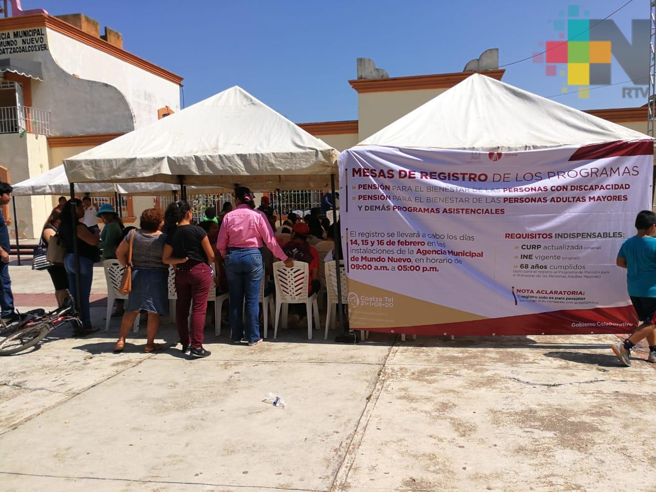 Madres solteras y amas de casa del sur de Veracruz se registran a censos de Gobierno Federal