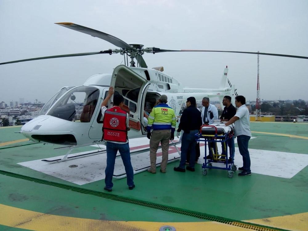 Desarrolla PC estrategias aeromédicas con grupos de atención a emergencias