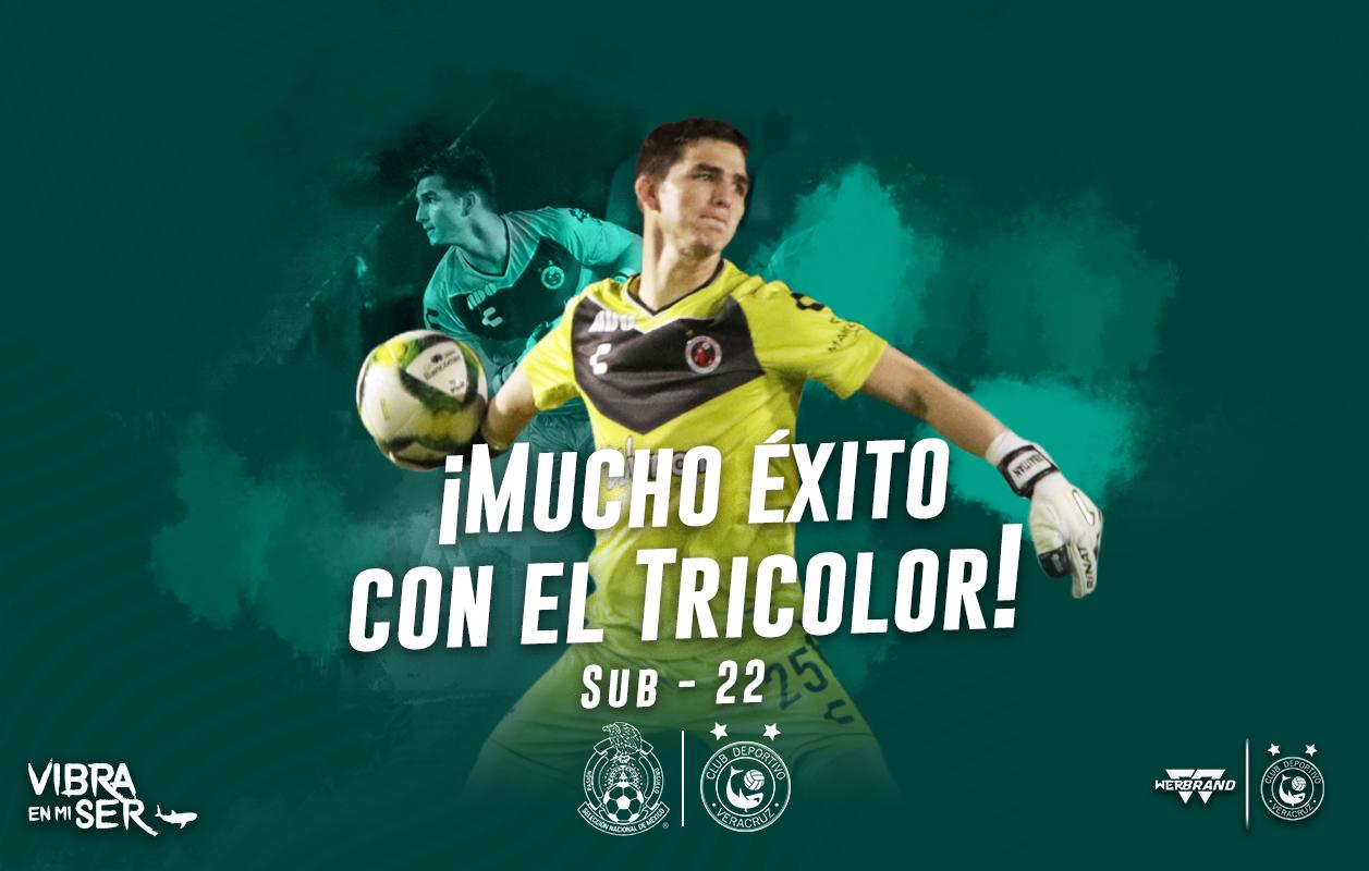 Sebastián Jurado convocado al Tri sub 22