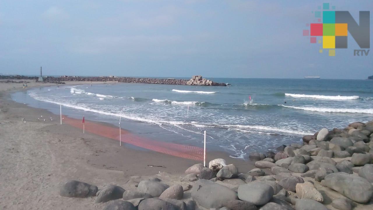"""Alineación del sol y la luna provocó """"marea sicigia"""" en el puerto de Veracruz"""