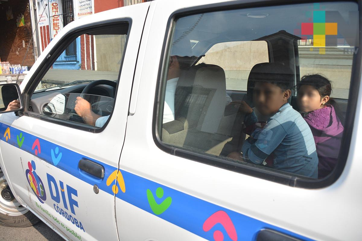 Padres de niños rescatados por el DIF de Córdoba habrían sufrido accidente
