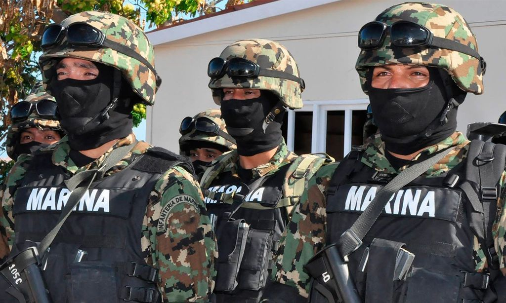 Detienen Semar y SSP a integrantes del cártel de Los Zetas, en el sur