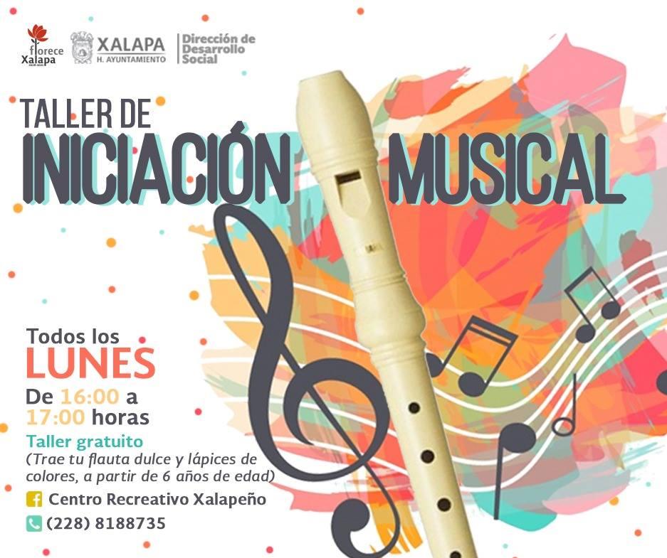 Invitan a Taller de Iniciación Musical en Xalapa