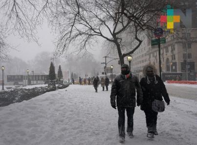 Nueva tormenta helada en costa atlántica de EUA afectará a 200 millones de personas