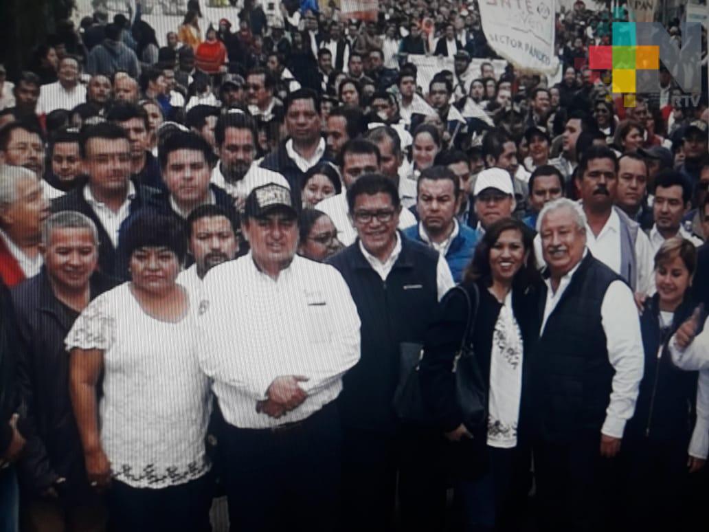 Maestros de la sección 32 del SNTE aliados del gobernador de Veracruz