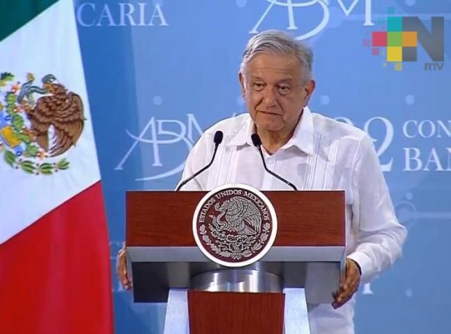 Creceremos a cuatro por ciento con responsabilidad, afirma López Obrador