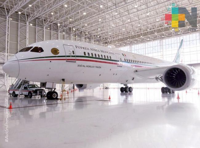 Avión presidencial ya tiene comprador, revela AMLO