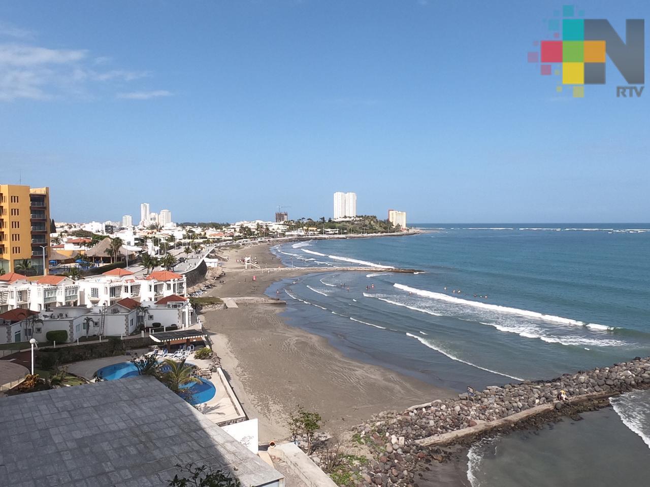 Playas de Veracruz aptas para recibir a vacacionistas en Semana Santa