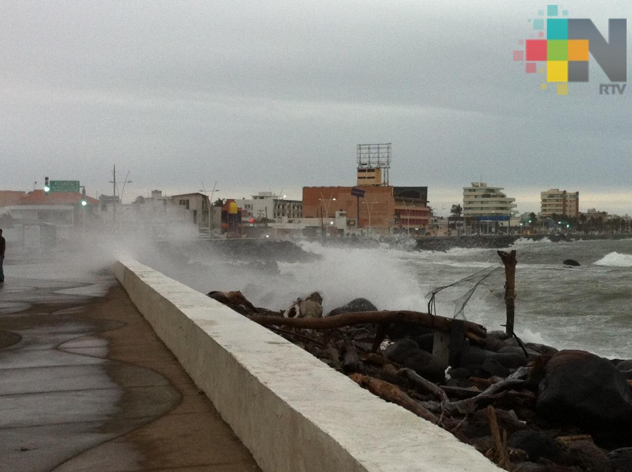 Se intensificará viento de Norte en  Veracruz-Boca del Río