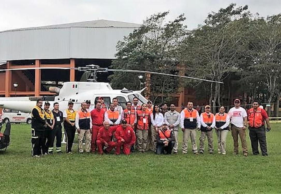 Coordina PC Plan Operativo Cumbre Tajín 2019