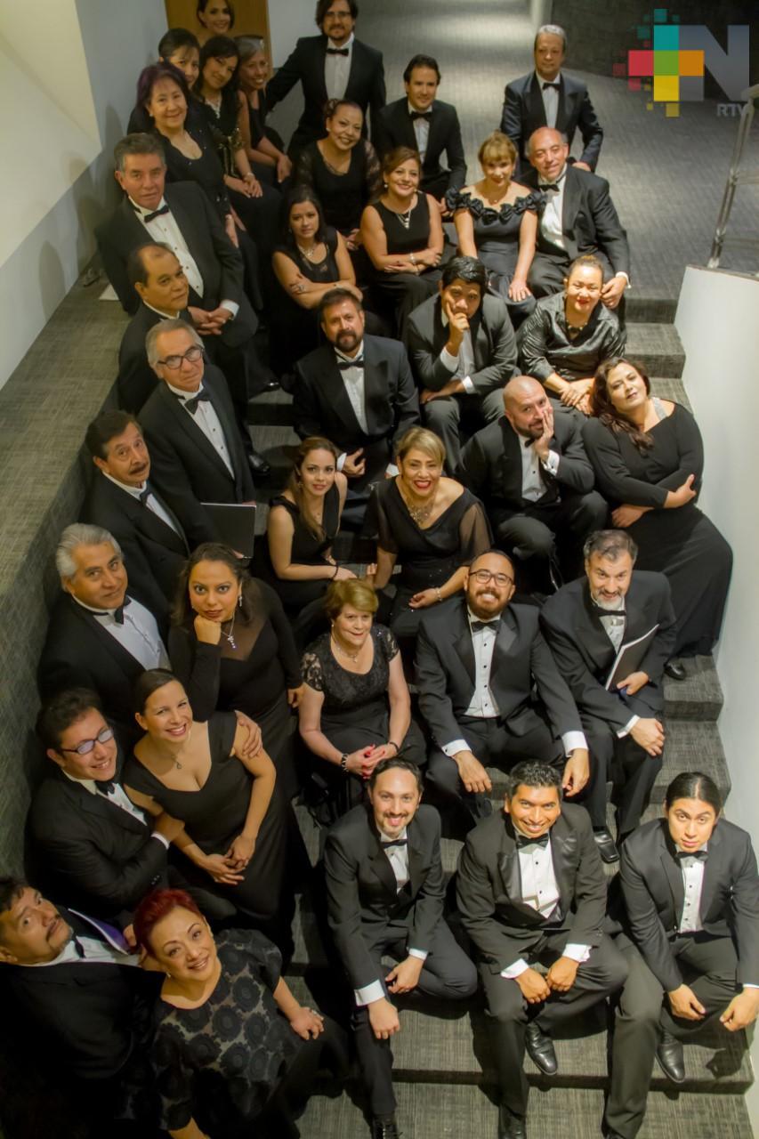 Interpretará Coro UV arias, duetos  y coros de ópera, en el MAX