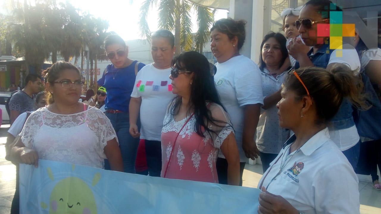 Encargadas de estancias infantiles piden apoyo a autoridades estatales